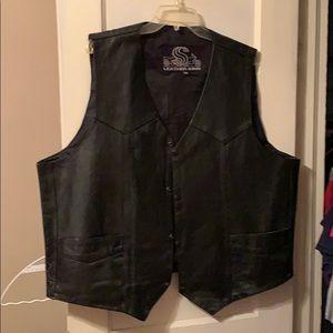 Leather King Vest